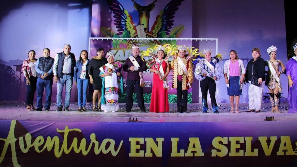 """Viven con intensidad en Leona Vicario carnaval """"Aventura en la Selva"""""""