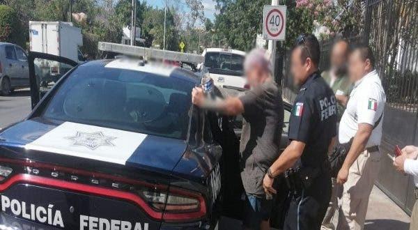 El estadounidense se ocultaba en la ciudad de Mérida.