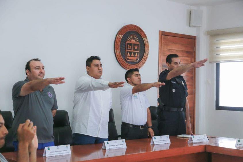Rinden protesta los integrantes del Comité Municipal para la Prevención de Accidentes Viales (Comupra)