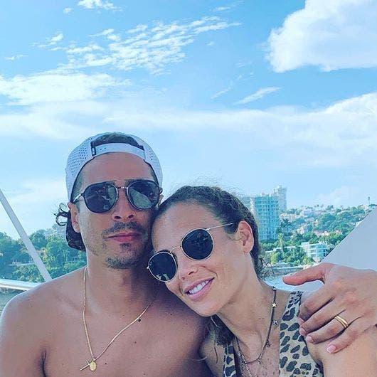 Guillermo Ochoa y Karla Mora. (Foto: Instagram Guillermo Ochoa)