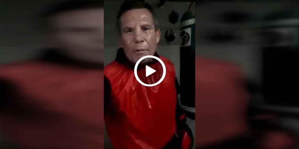 Julio César Chávez amenaza al Travieso porque no entrena