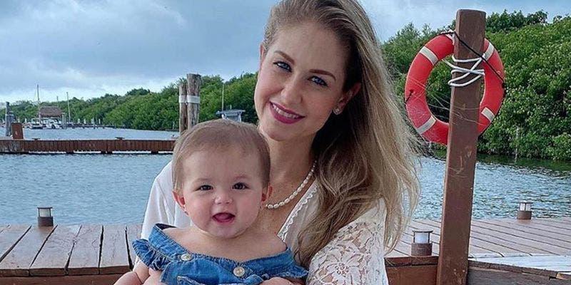 Ingrid Martz y su hija Martina sufren accidente automovilístico