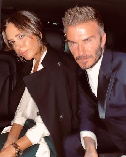 La longeva pareja de Victoria y David Beckham.