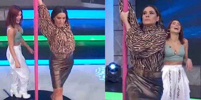 """María León enseña a Galilea Montijo a bailar en el """"tubo"""""""