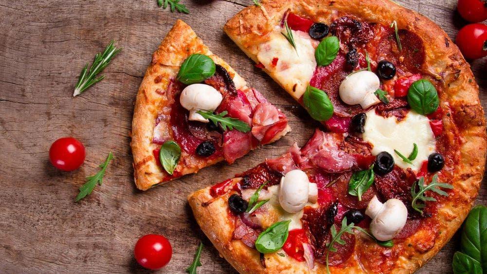 Hoy día hay pizzas de casi todas las combinaciones posibles