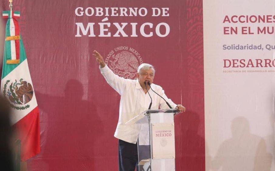 Empresarios ven con positivismo la visita de AMLO a Playa del Carmen.