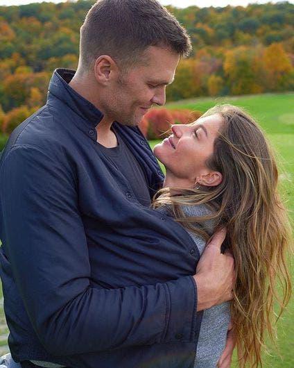 El QB Tom Brady y Gisele Bündchen