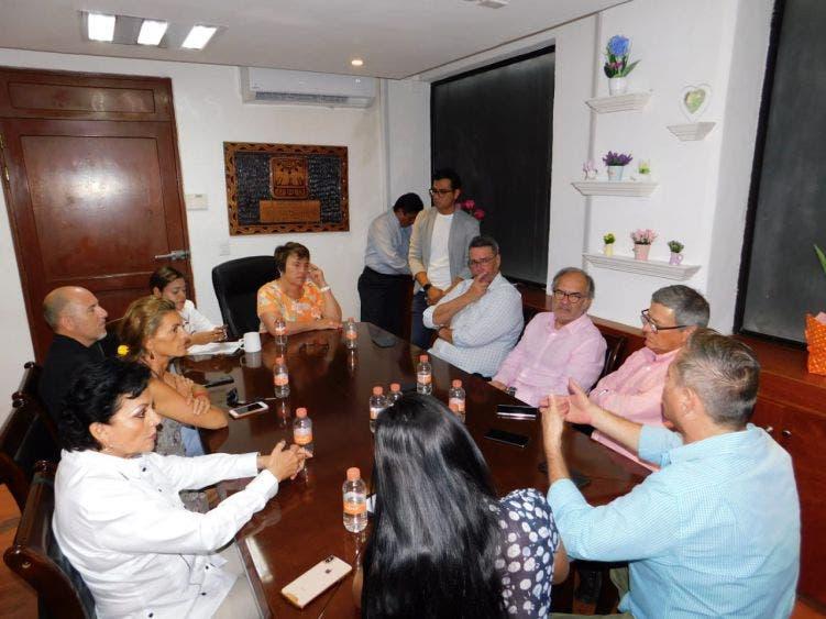 Se reúne el Presidente de la AHRM con la alcaldesa Laura Beristain