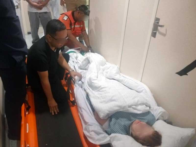 En Isla Mujeres auxilia la Marina a pasajera de crucero accidentada; la evacuación se realizó a 5.5 kilómetros de la ínsula.
