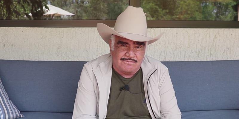 """Vicente Fernández prepara el lanzamiento de su tequila """"Los 3 potrillos"""""""