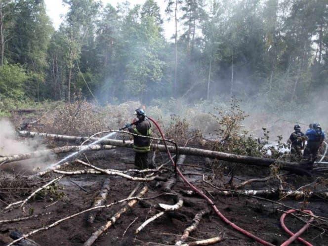 Ucrania en alerta por un incendio cerca de Chernóbil.