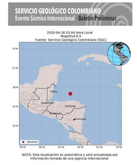 Se percibe en Quintana Roo sismo de 6.3 con epicentro en Honduras; autoridades de Protección Civil descartan alerta de tsunami.