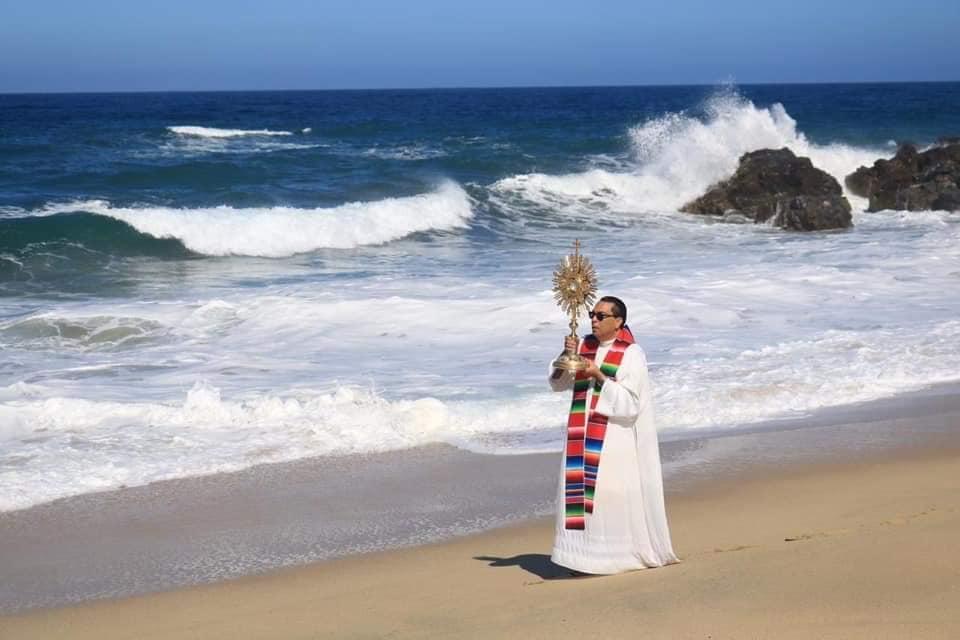 Bendice el mar en Riviera Nayarit por Covid-19