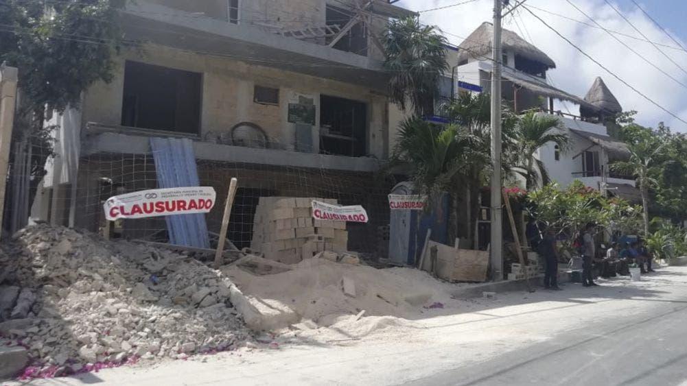 Por violar suspensión de actividades no esenciales, clausuran cuatro obras de construcción en Puerto Morelos