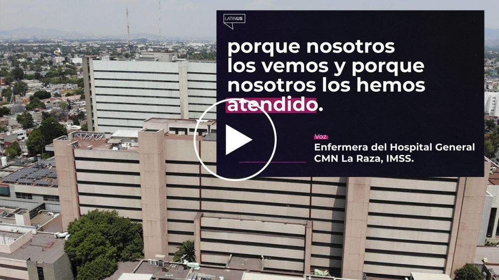 """La triste realidad, enfermeras denuncian """"maquillada"""" de datos en el hospital La Raza"""