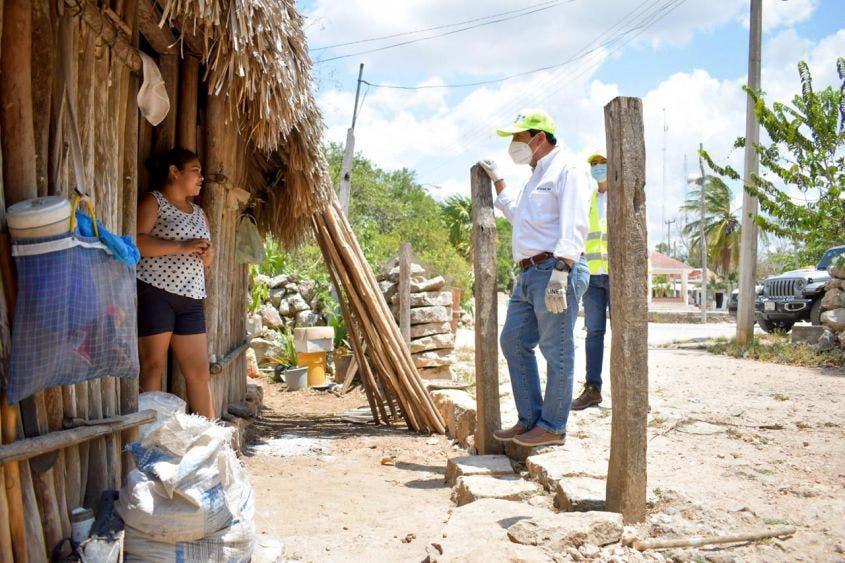 Les hemos pedido a las familias de la Zona Maya y de todo el municipio que por favor se queden en sus casas