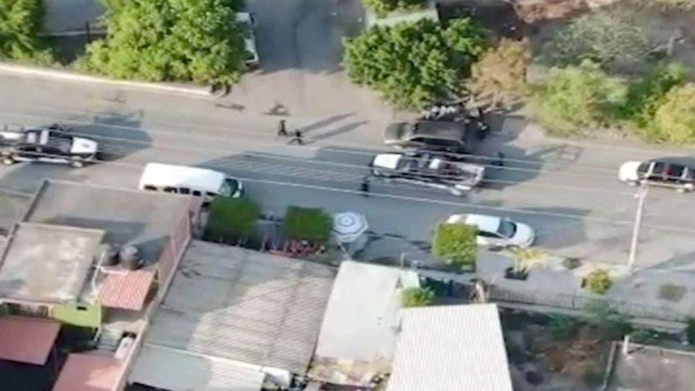 Por medio de drones visualizan a secuestradores y los detienen