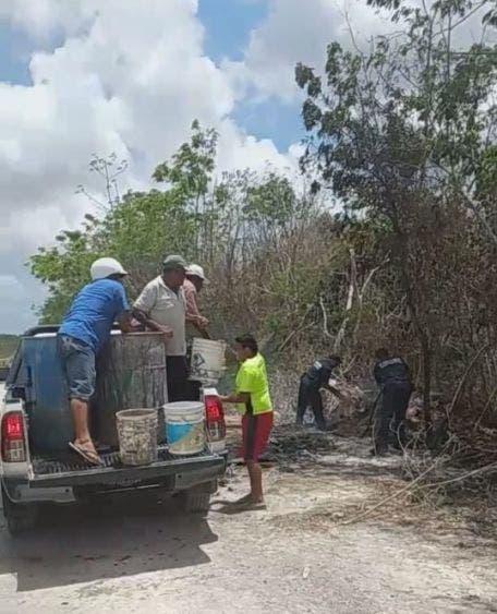 Incendios de malezas en Cozumel ante altas temperaturas.