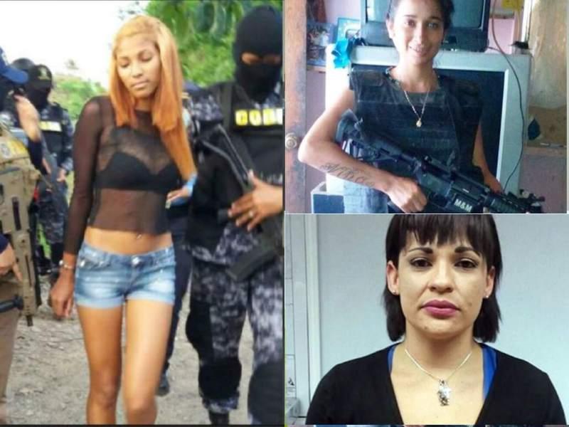 Ana Chanelly Córdoba Bonilla, alias 'La China' (izquierda), fue responsable del asesinato de José Manuel Gómez Vindel, transportista de la empresa Cristina en Honduras.