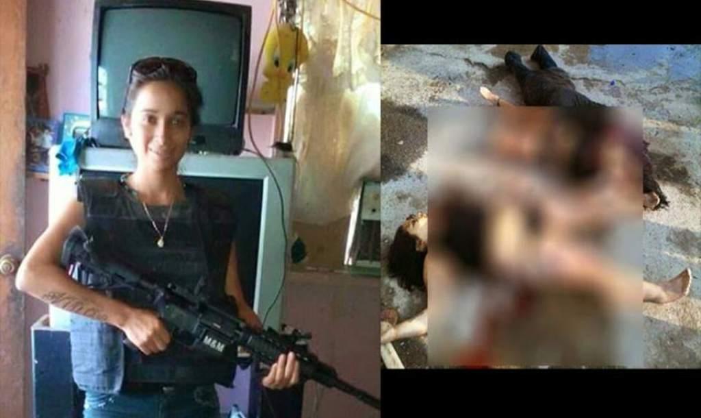 """Una de las sicarias más conocidas en México fue Joselyn Alejandra Niño, alias """"La Flaca"""", sicaria del Cártel del Golfo."""