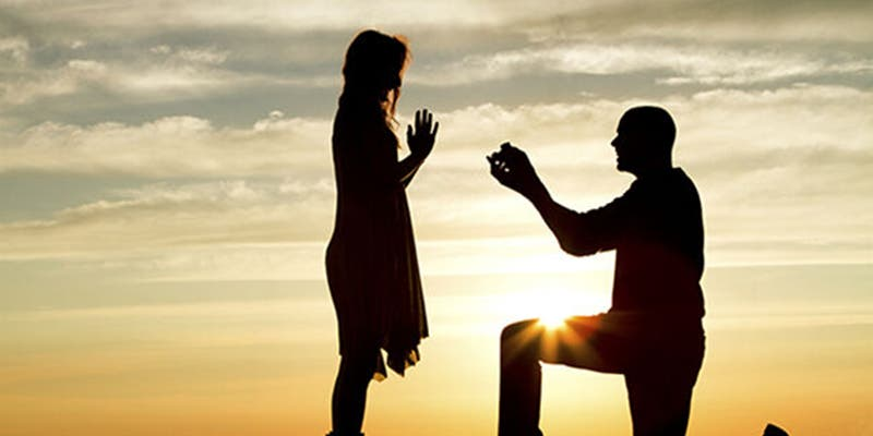 6 formas para pedirle matrimonio a tu pareja