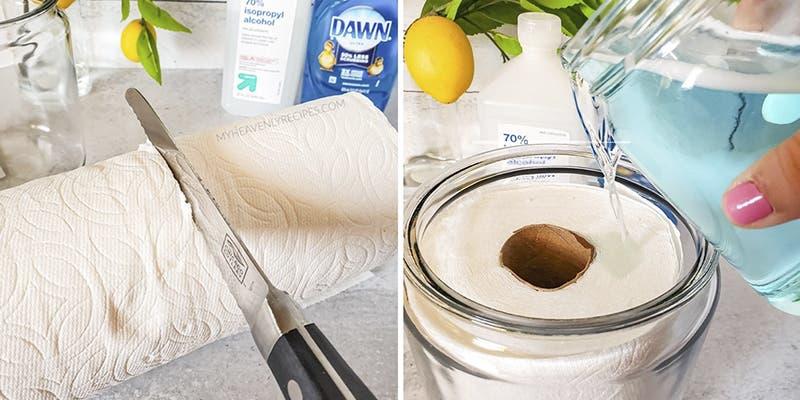 Coronavirus: ¿Cómo hacer toallitas antibacteriales para desinfectar tu hogar?