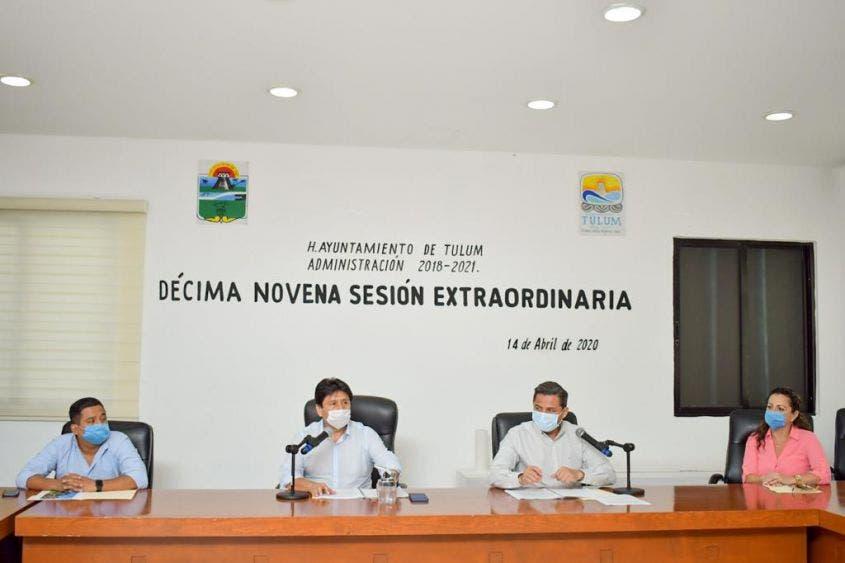 Todos los regidores aprobaron los tres acuerdos presentados para su análisis.