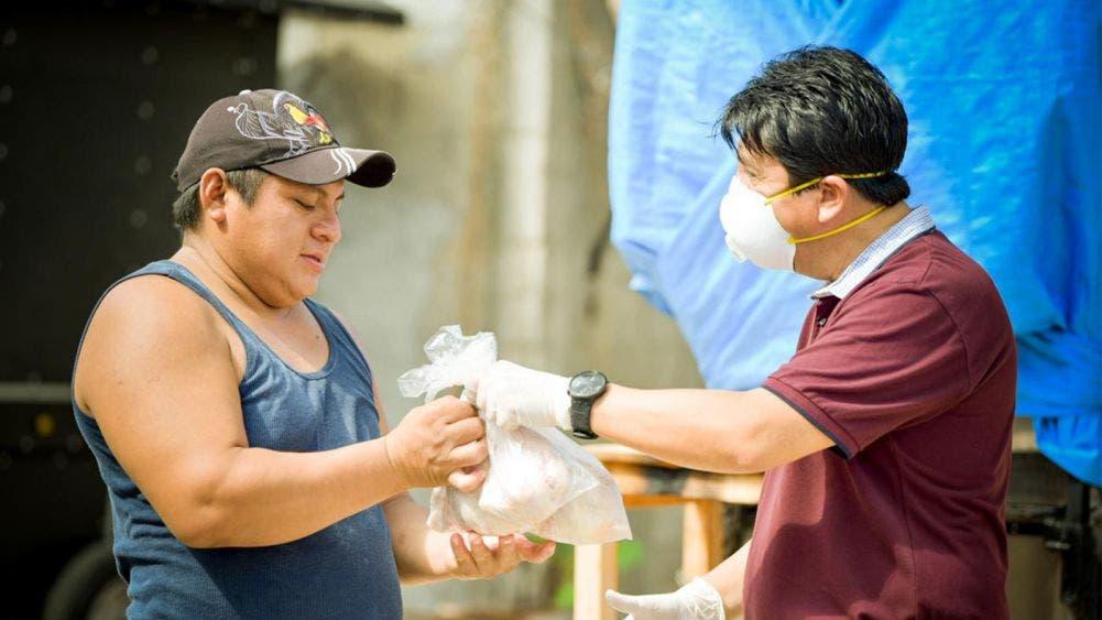 Continúa entrega de ayuda humanitaria en todo el municipio de Tulum