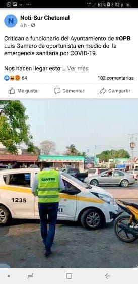 Le va como en feria a Luis Gamero en Chetumal.