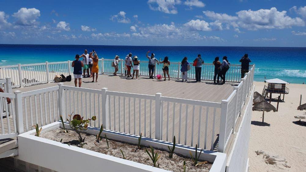Cancún podría ser el destino que se recupere antes de la pandemia.