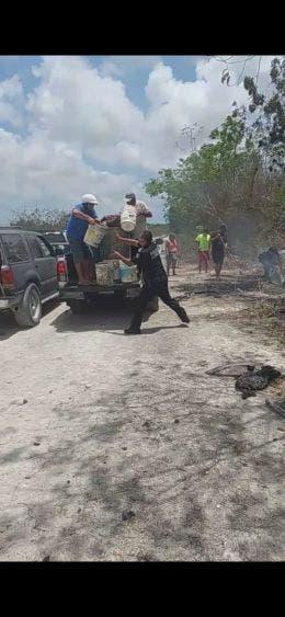Incendios de malezas en Cozumel ante altas temperaturas; piden a los ciudadanos a estar alertar y prevenir cualquier conato de fuego