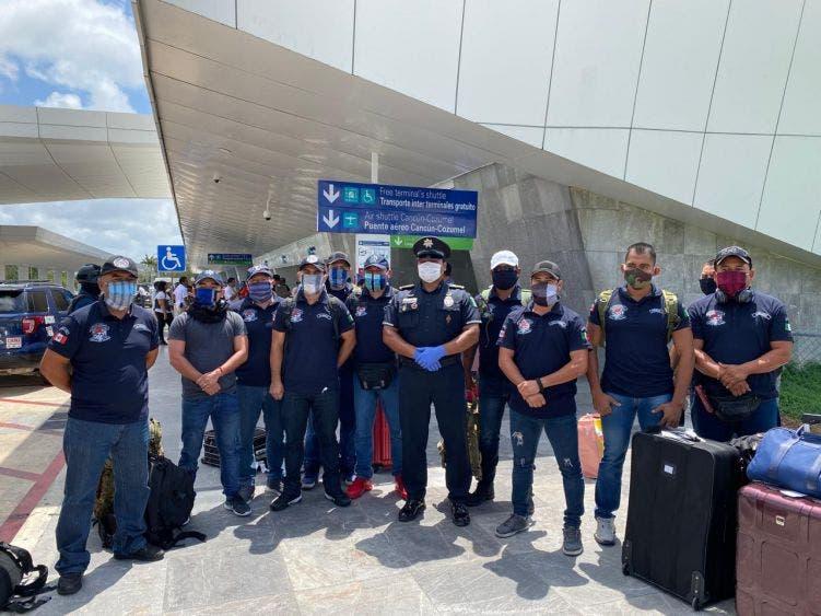 Regresan a Playa del Carmen policías municipales que permanecían Perú.
