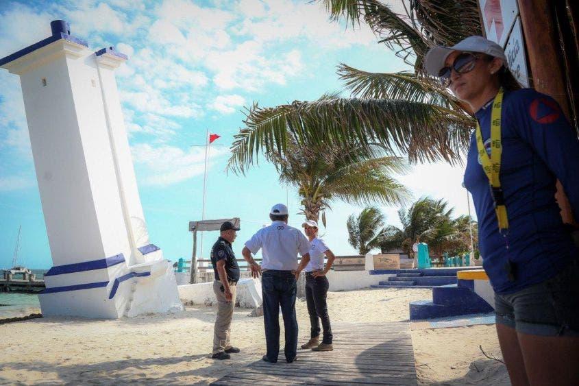 Supervisa Laura Fernández cierre de playas por emergencia sanitaria por covid-19, como parte de las medidas emprendidas a nivel nacional