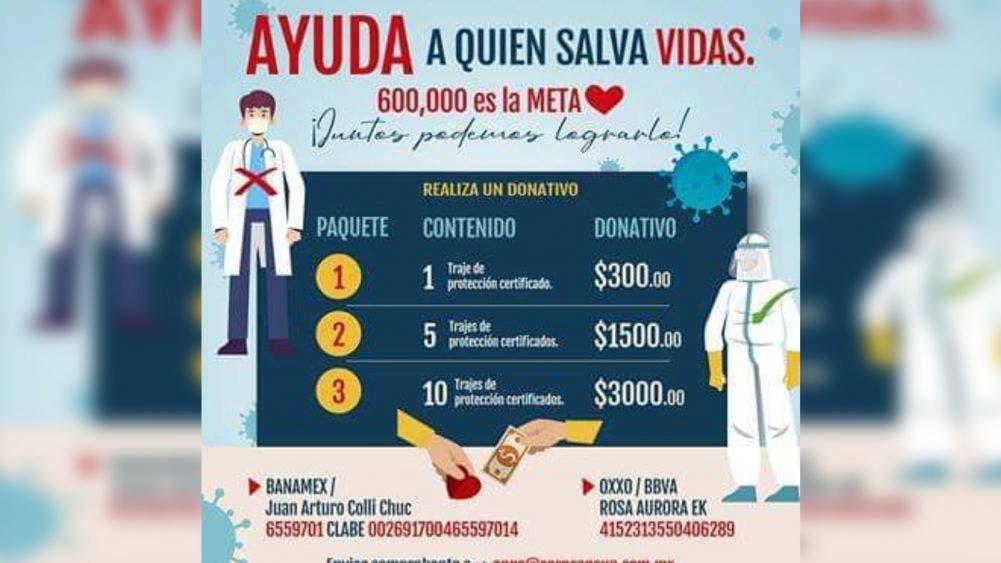 """Lanzan empresarios iniciativa """"Ayuda a quién salva vidas"""""""