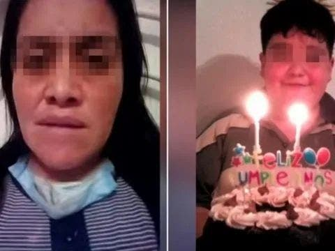 Fallece niño que cuidaba a su mamá contagiada de coronavirus