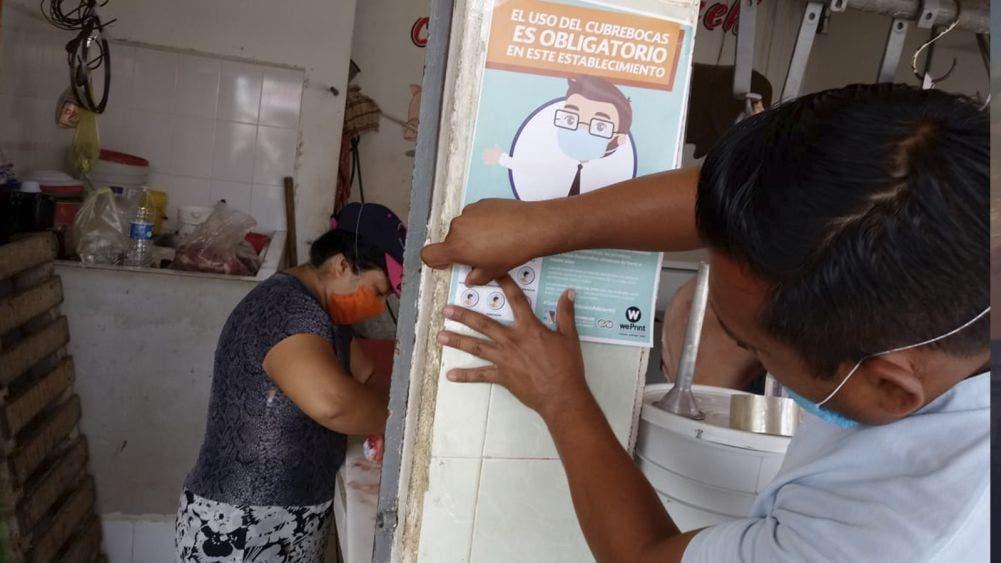 Acatan negocios de Leona Vicario disposiciones del ayuntamiento ante contingencia sanitaria