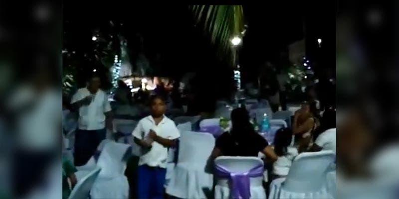 Arman fiesta de XV años y boda en plena cuarentena