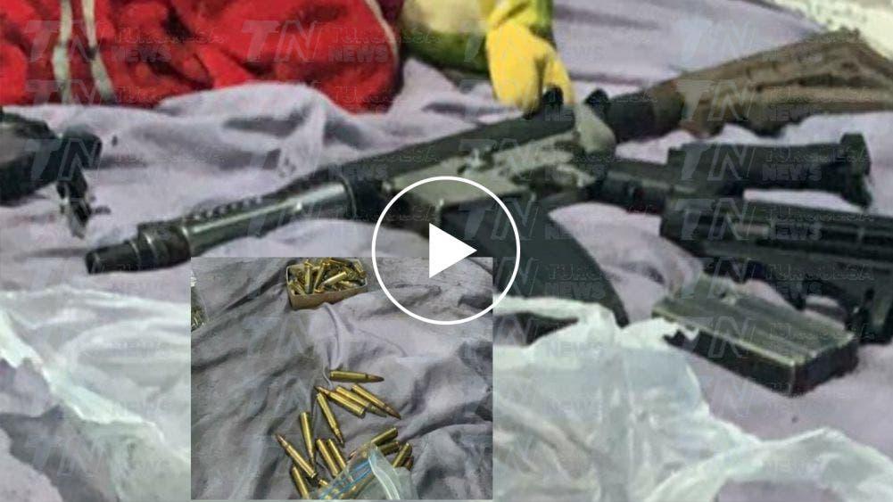 Aseguran armas, drogas y vehículos en operativo en vivienda del km 5