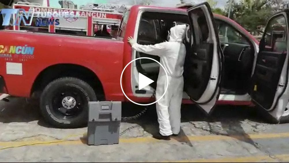 Sanitiza H. Cuerpo de Bomberos sus instalaciones