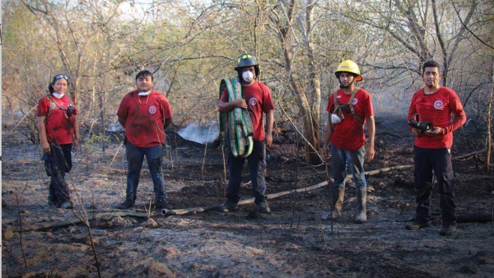 Atendió gobierno de Laura Fernández 17 incendios de abril a la fecha