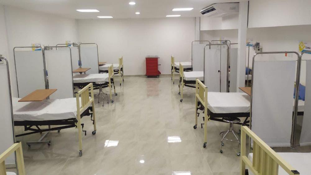 Amplían Hospital General con 20 camas mas para covid-19