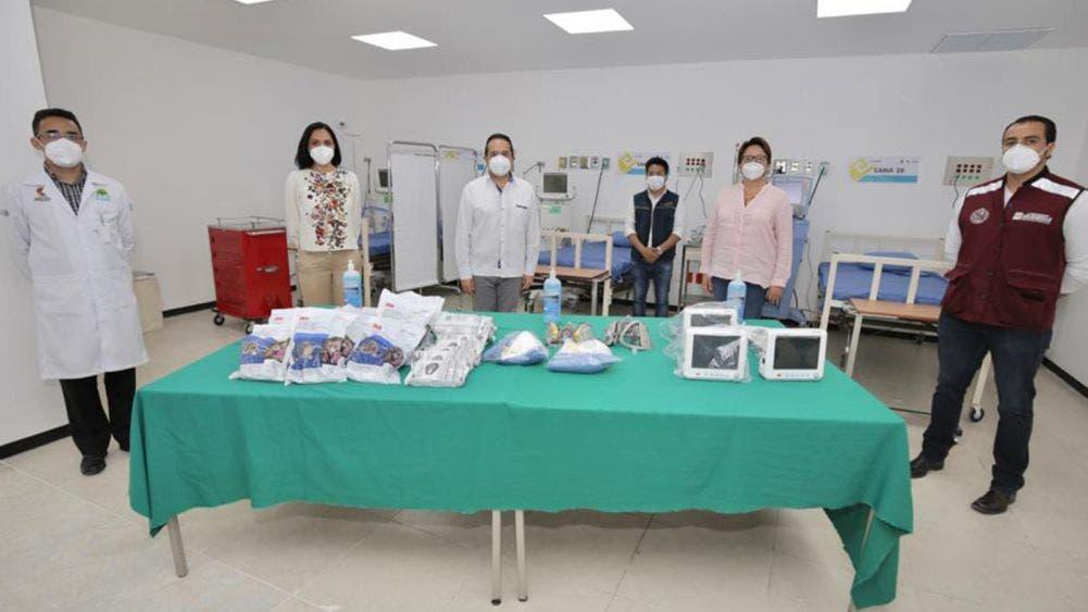 Listas instalaciones hospitalarias en el CENALTUR de Playa del Carmen: Carlos Joaquín