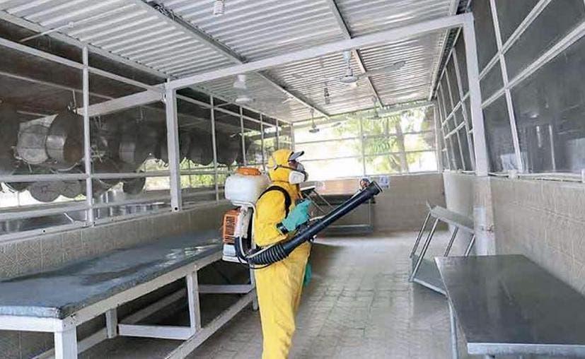 Cereso de Mérida con estrictas medidas sanitarias