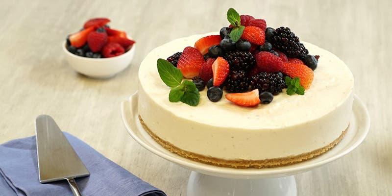 Receta de Cheesecake sin hornear para este Día de la Madre