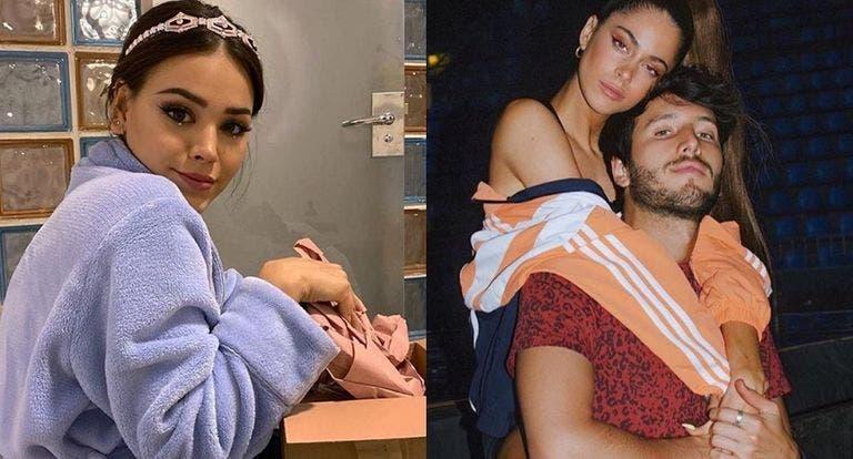Culpan a Danna Paola del truene entre Sebastián Yatra y Tini Stoessel