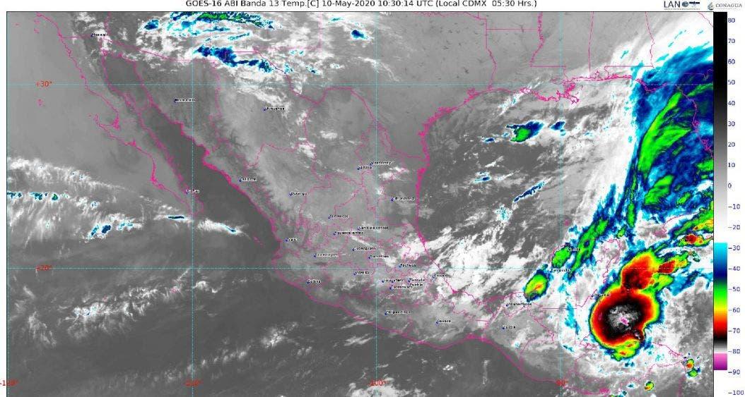 Clima para hoy domingo 10 de mayo del 2020 en Quintana Roo; se prevén lluvias fuertes y descargas eléctricas para la Península.