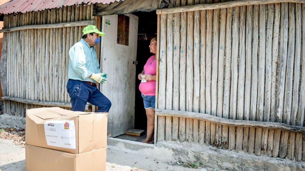 Avanza la fase dos de ayuda alimentaria en Tulum