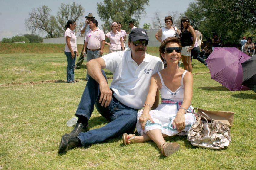 """Eventos sociales y pic nics no pueden faltar en la vida del """"menesteroso"""" Vicente Fox y su paupérrima esposa Martha Sahagún."""