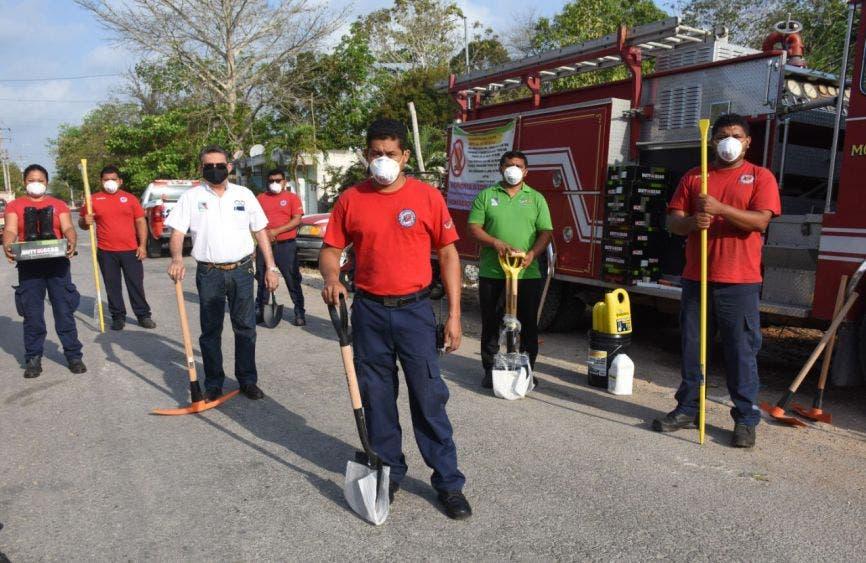 Atendió gobierno de Laura Fernández 17 incendios de abril a la fecha, gracias al importante trabajo de Protección Civil, Bomberos y Conafor