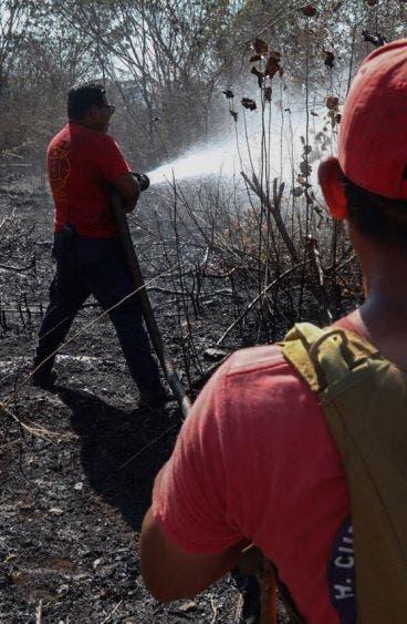 Estas conflagraciones, actualmente liquidadas, afectaron cerca de 70 hectáreas y diversas especies de fauna silvestre